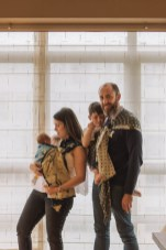 fotografía familiar e infantil en casa