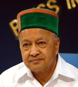 Virbhadra Singh, Chief Minister, Himachal Pradesh