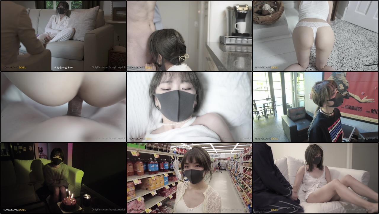 超火香港网红美少女『HongKongDoll』极品女神玩偶姐姐『一日女友的漂亮姐姐』终章