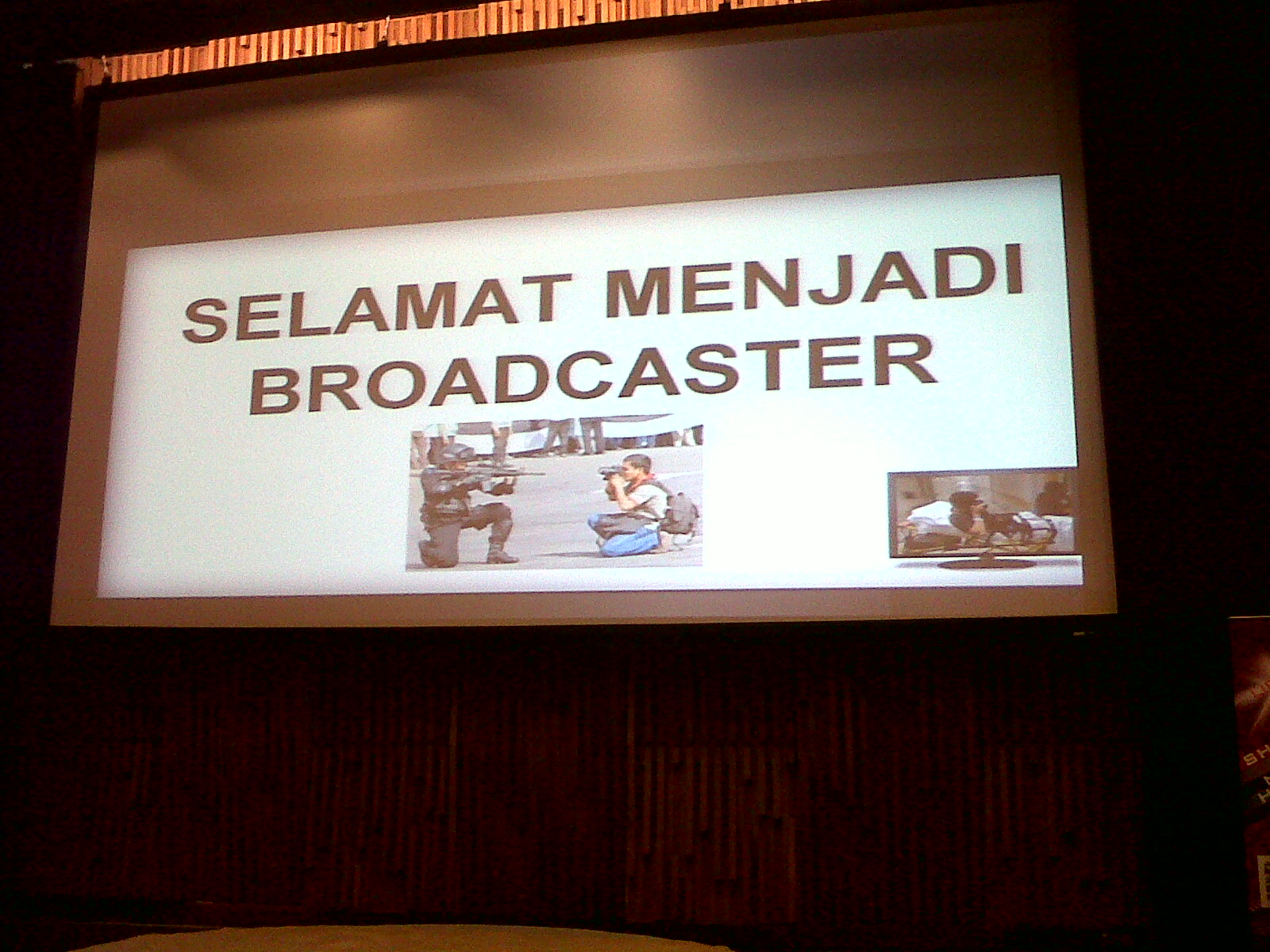 Broadcaster : Media Digital vs Media Konvensional