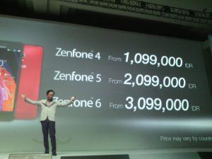 Harga Asus Zenfone 4 5 6