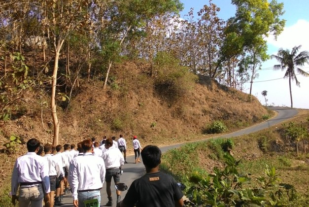 Karang Taruna Tri Tunggal Jaya Klumpit Gerak Jalan
