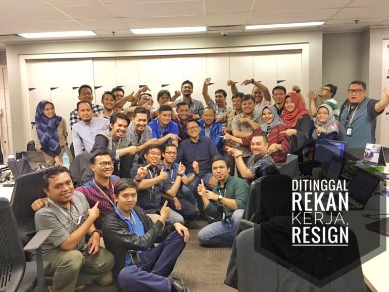 Ditinggal Resign Rekan Kerja