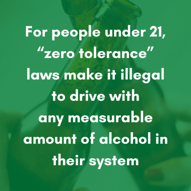 drunk driving laws for people under 21