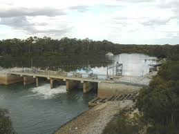Torrumbarry Weir. Click for more information.