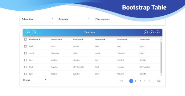 Bootstrap table sort examples tutorial Basic