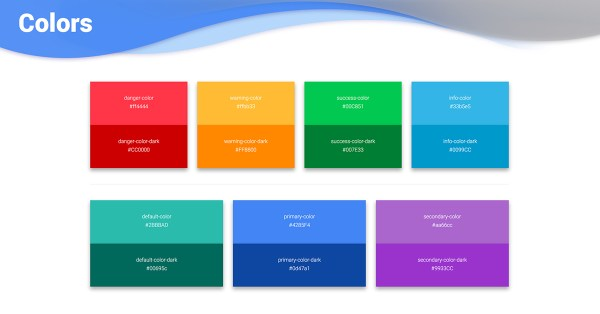 300 Bootstrap Colors examples tutorial Basic