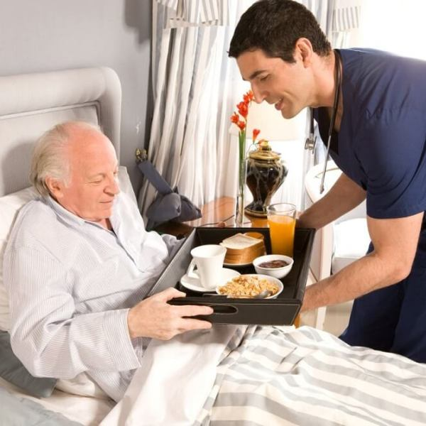 dobra opieka nad starszym panem