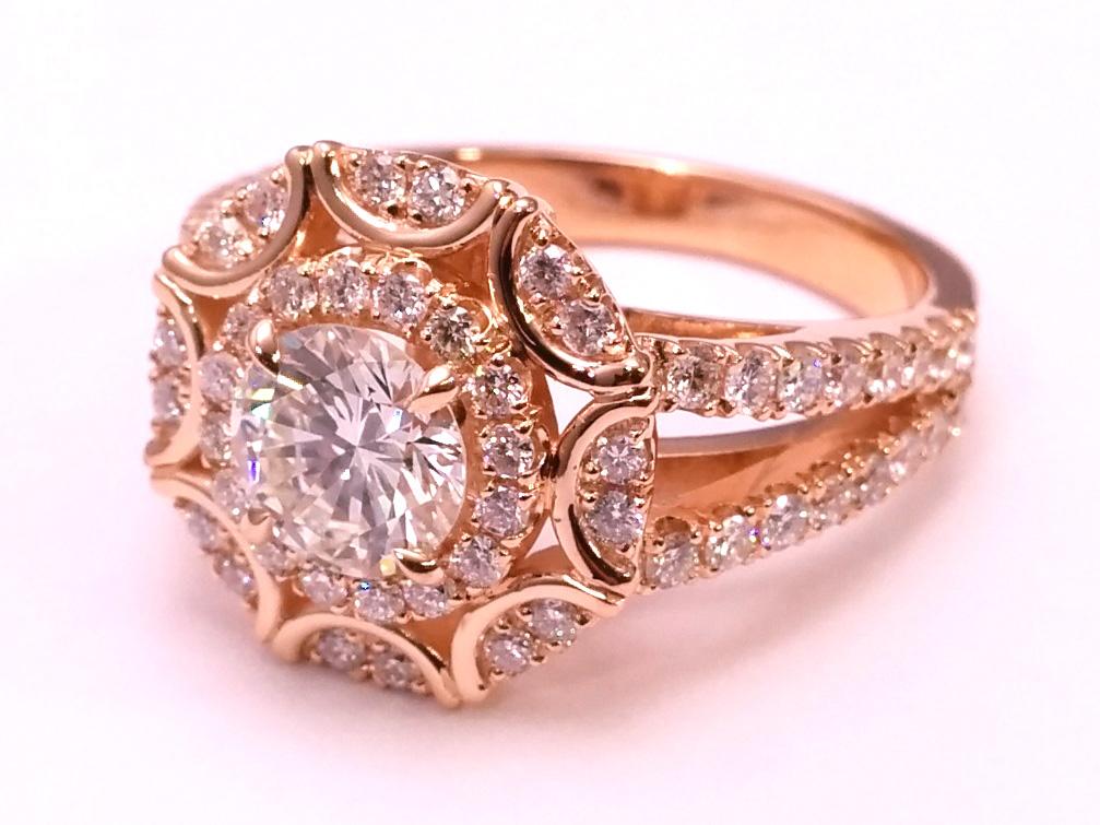 Rose Gold Rings Rose Gold Rings Nyc