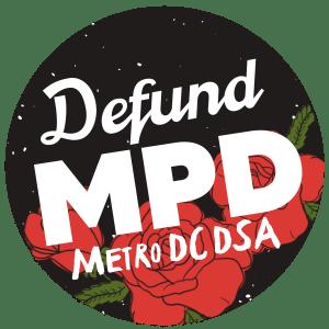 Defund MPD Metro DC DSA