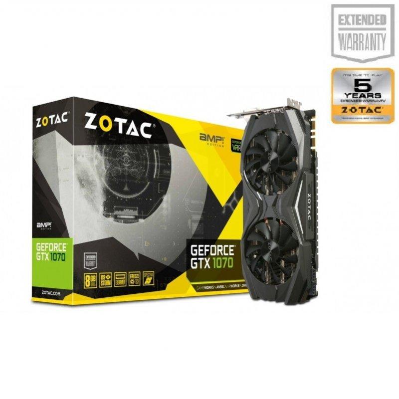Buy ZOTAC GTX 1070 8GB GDDR5 AMP Best Price In India