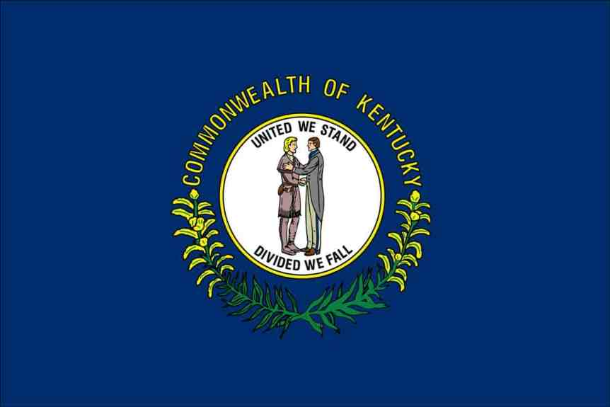 kentucky-flag - KENTUCKY KNIFE LAWS