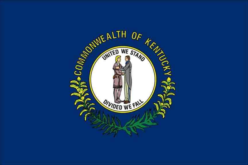 kentucky-flag - KENTUCKY KNIFE LAWS