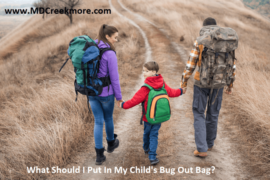 What Should I Put In My Child's Bug Out Bag?