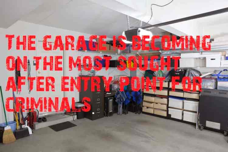 how to secure a garage