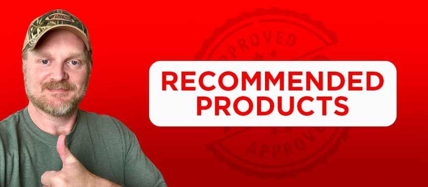 recommended products page
