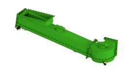 Pebco fluidized conveyor