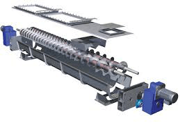 Shafted Screw Conveyor