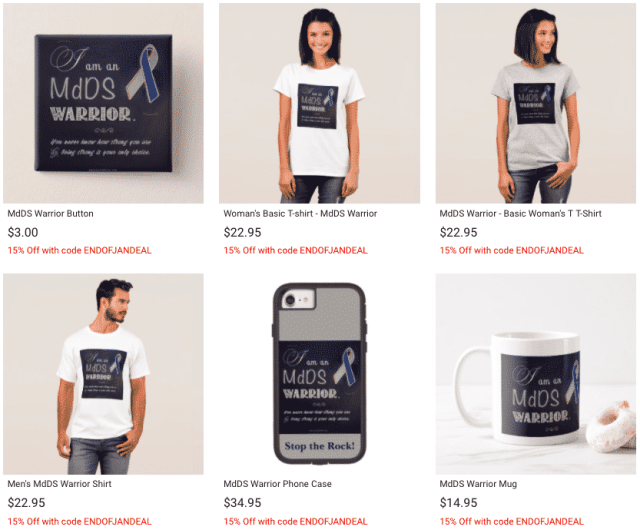 mdds zazzle store