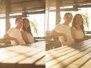 Balaring Silay City Wedding Photographer Negros Occidental mdeguzman hope errol sazon engagement seaside restaurant by the sea