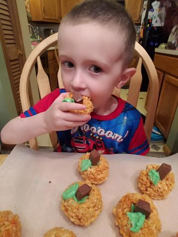 Oliver Mastering Some Cookies