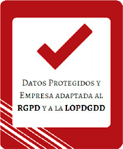 Sello empresa adaptada a la RGPD