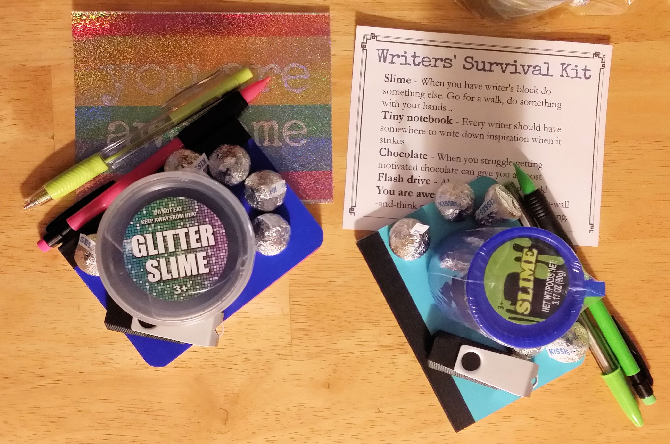Young Writer's Survival Kit