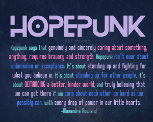 Hopepunk 8x10 printable