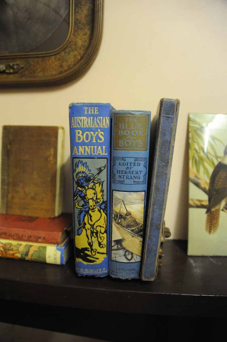 Books from the Children's room in our museum