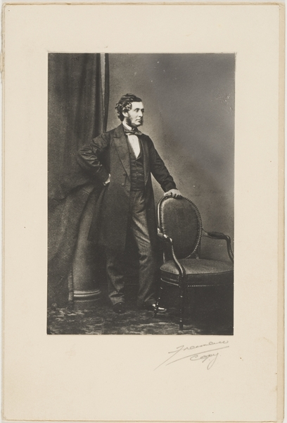 Thomas Mort - portrait on which his statue in Macquarie Place is based