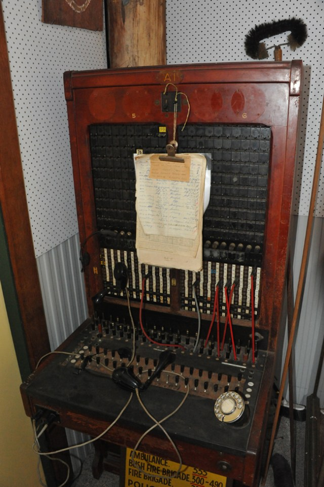 Any ca;;s to Moruya 13 ( the  Chewying number} would have gone through this switch- now in the MDHS museum)