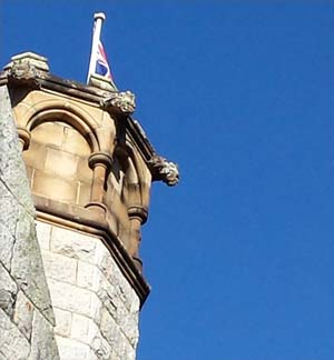 """The """"strollers' would have admired the tower oF All Saints Church in Bodalla."""