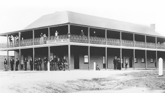 Carden's Royal Hotel - an ornament to Moruya