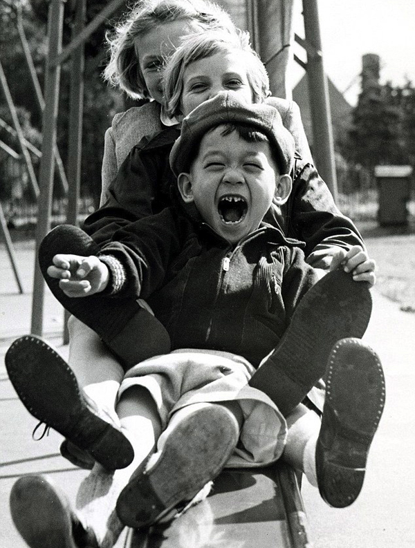 The sheer joy and innocence of childood