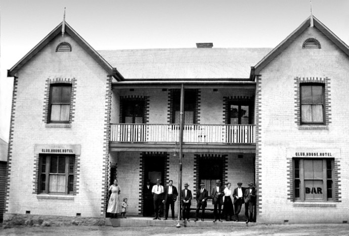 Club House Hotel Moruya c1925