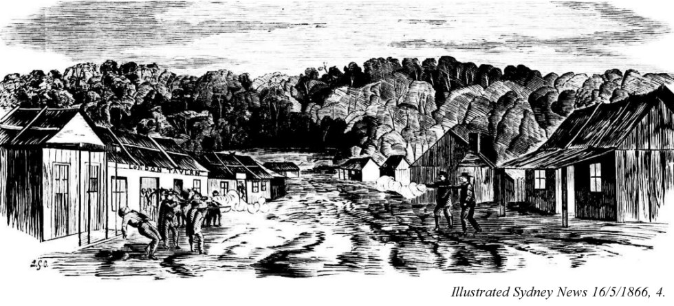 Nerrigundah in the gold rush days