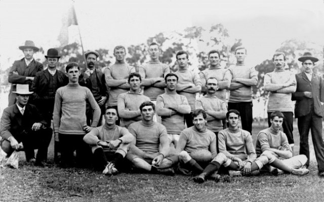 One of the football teams of the time - Bodalla c1900