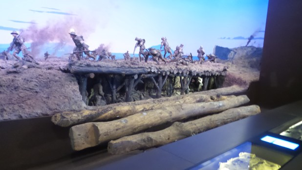 Lone Pine- one of the Australian War Memorial's iconic dioramas