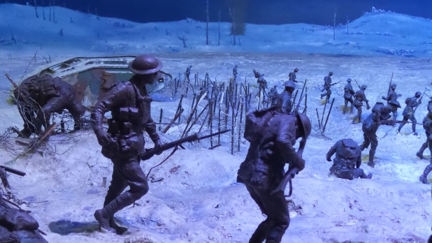 The Bullecourt diorama