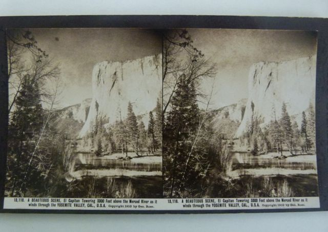 A stereogram of Yosemite, California - MDHS Collection