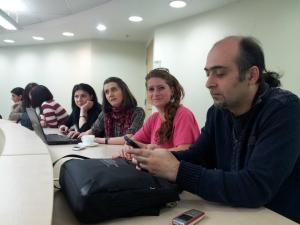 Armenia -- iditord project team during training at the American University of Armenia, Yerevan,