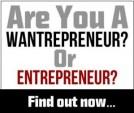 Are you a wantrapreneur or entrepreneur?