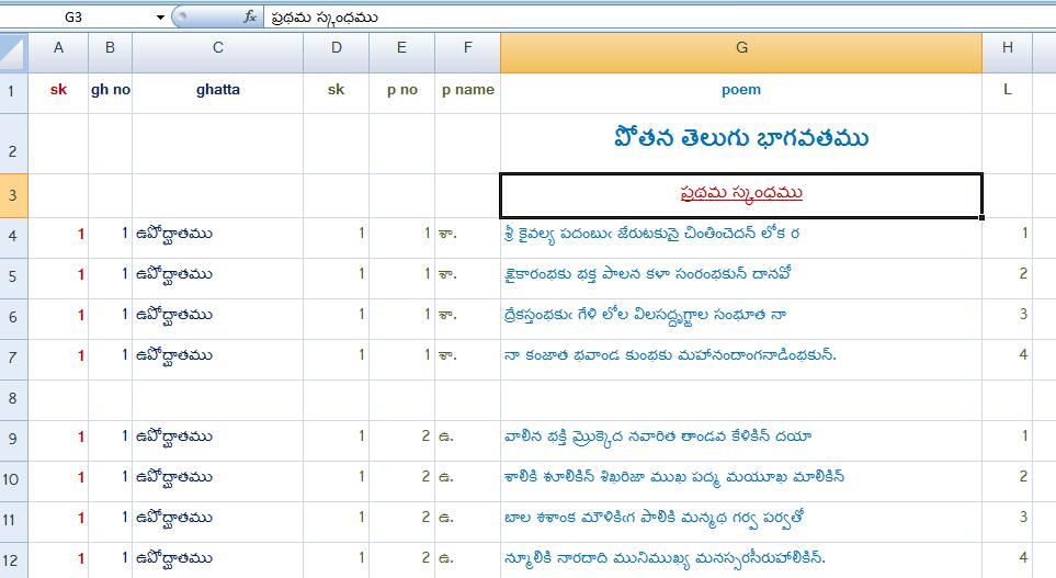 మిరియం© -పూర్తి స్థాయి తెలుగు ఛందస్సు సాఫ్ట్వేర్ (3/6)