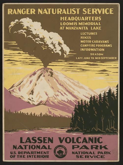 Lassen Volcanic National Park, Ranger Naturalist Service (ca. 1938)