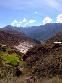Maras- salt mine in the Sacred Valley