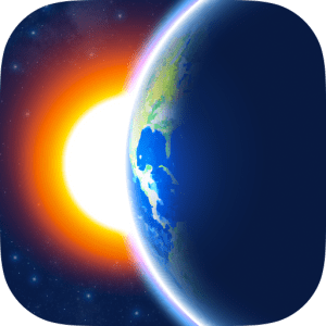 3D Earth - weather widget image not available