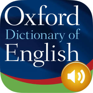 Oxford English Dictionary 2018 image not available