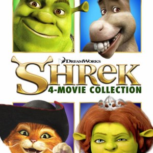 The Complete Shrek bundle image not available