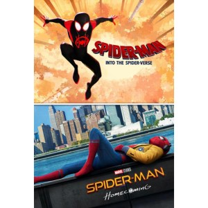 Spider-Man Homecoming & Into the Spiderverse bundle image not available