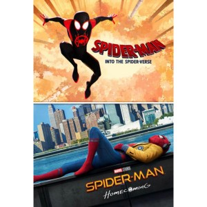 Spiderman: Homecoming & Into the Spiderverse bundle image not available